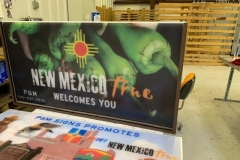 New Mexico True sign