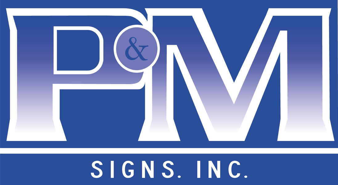PM Signs Inc. logo